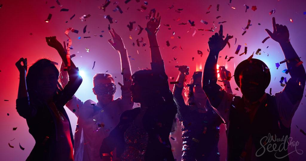 Die 10 besten Sorten für Partys und Soziales - WeedSeedShop