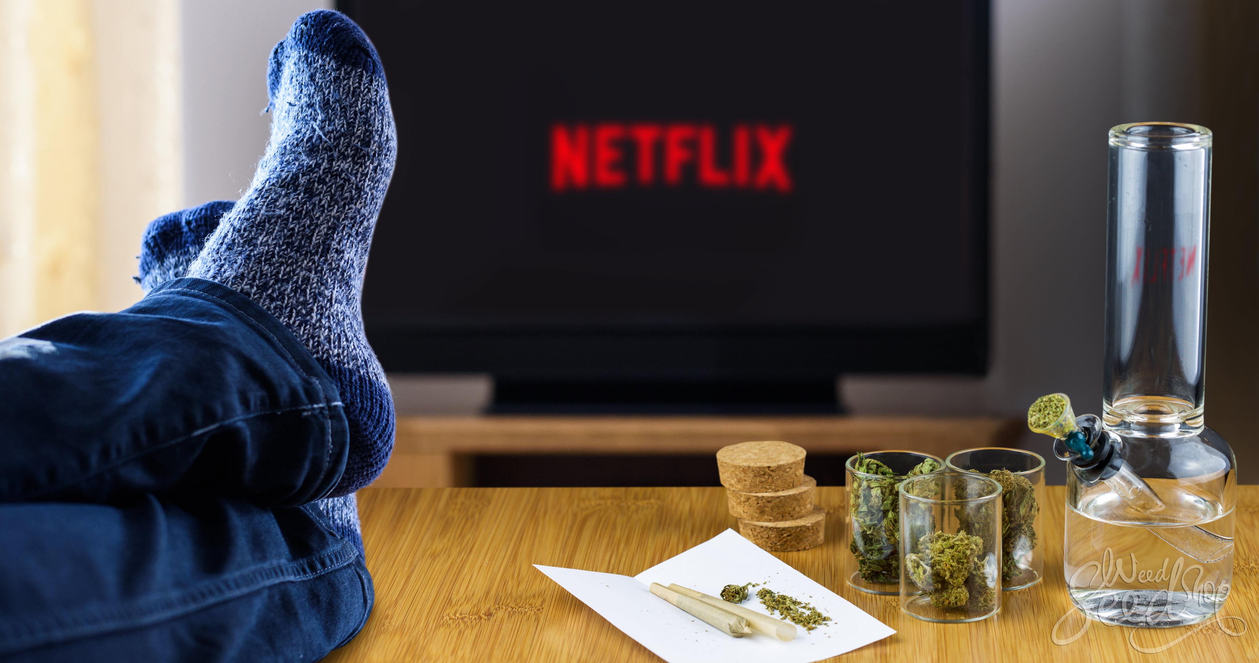 10 souches de cannabis pour une soirée Netflix - WeedSeedShop