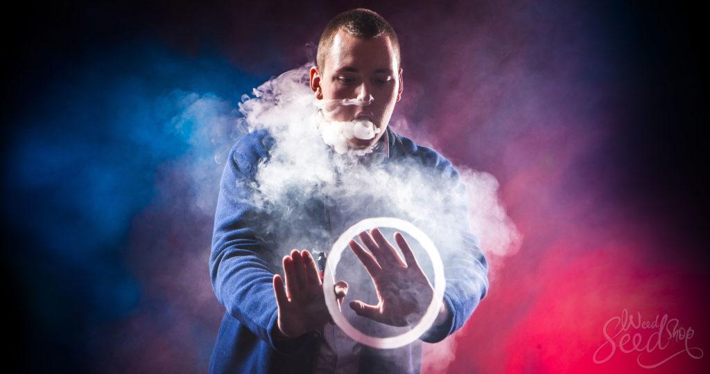 8 manières de faire des ronds de fumée - WeedSeedShop