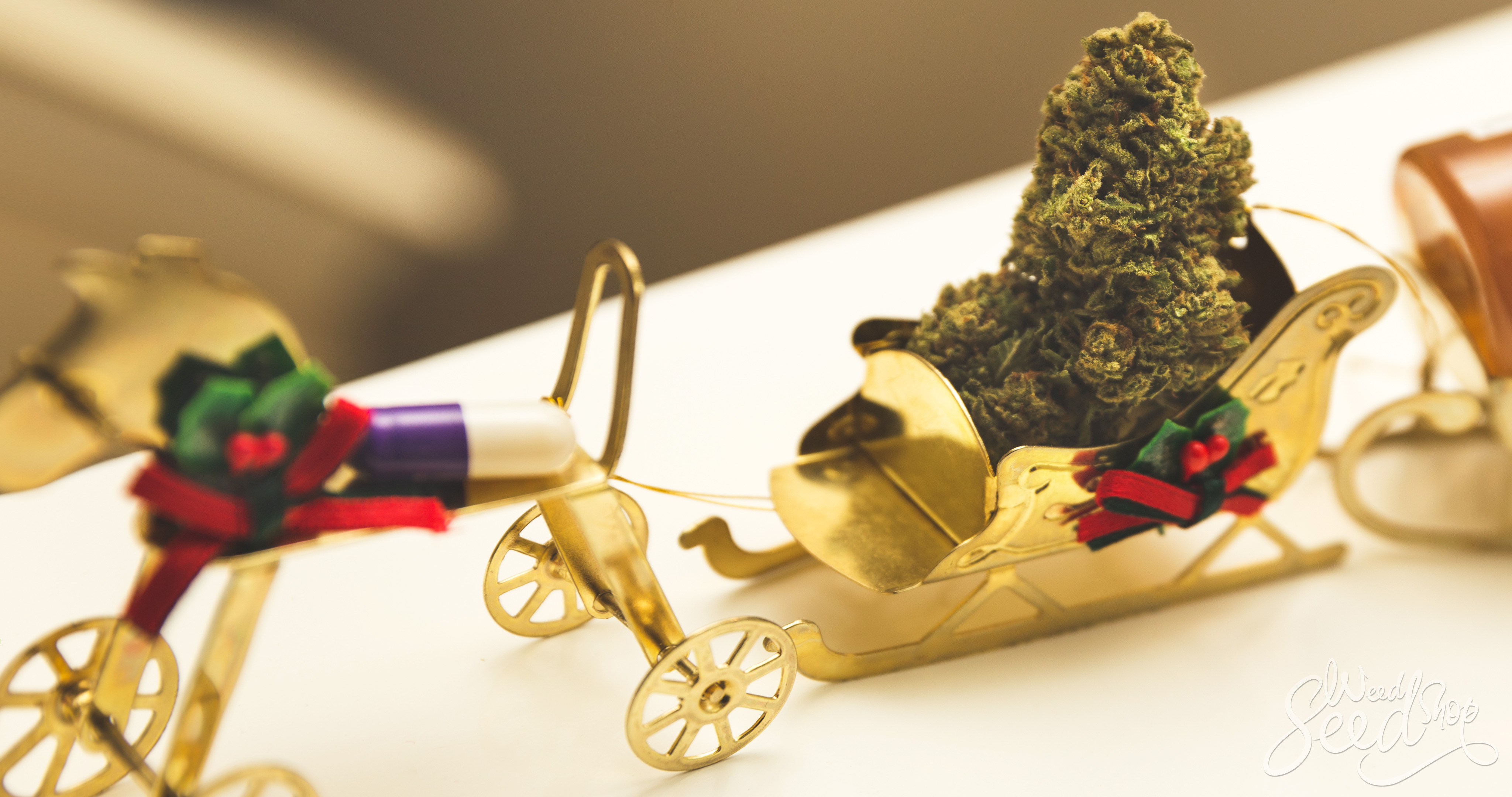 8 Christmas Gifts That Stoners Will Love - WeedSeedShop