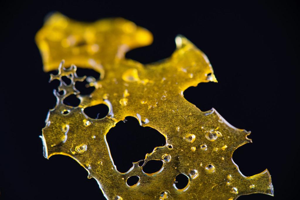 El el aceite de hachís - BHO