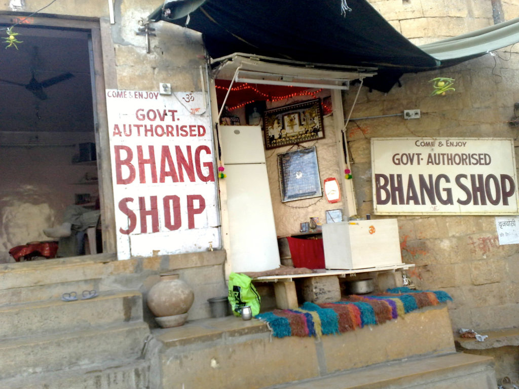 Cannabis uses: Bhang, in India