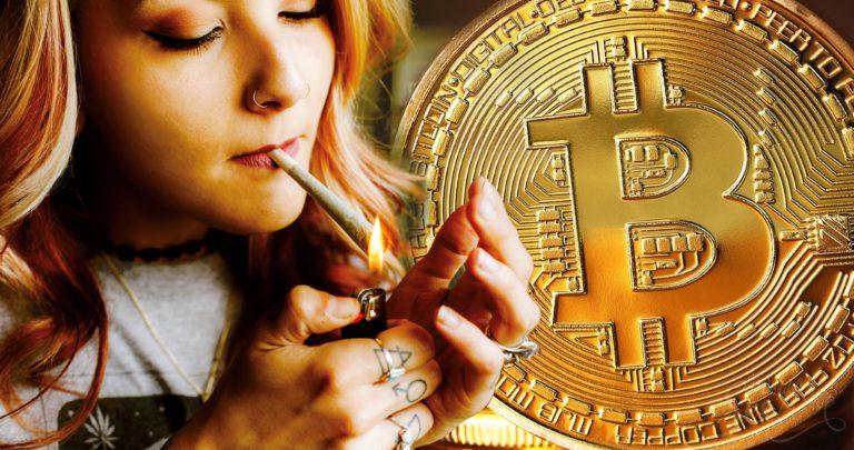 Cannabis und die Kryptowährung: Kann Bitcoin in Knospen eingetauscht werden?