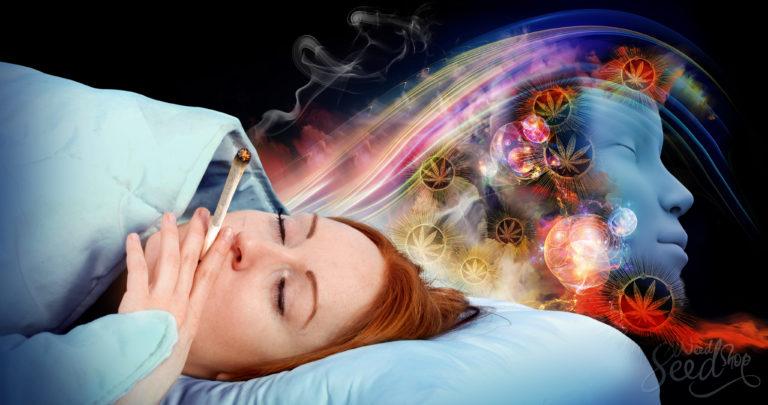 De invloed van wiet op dromen