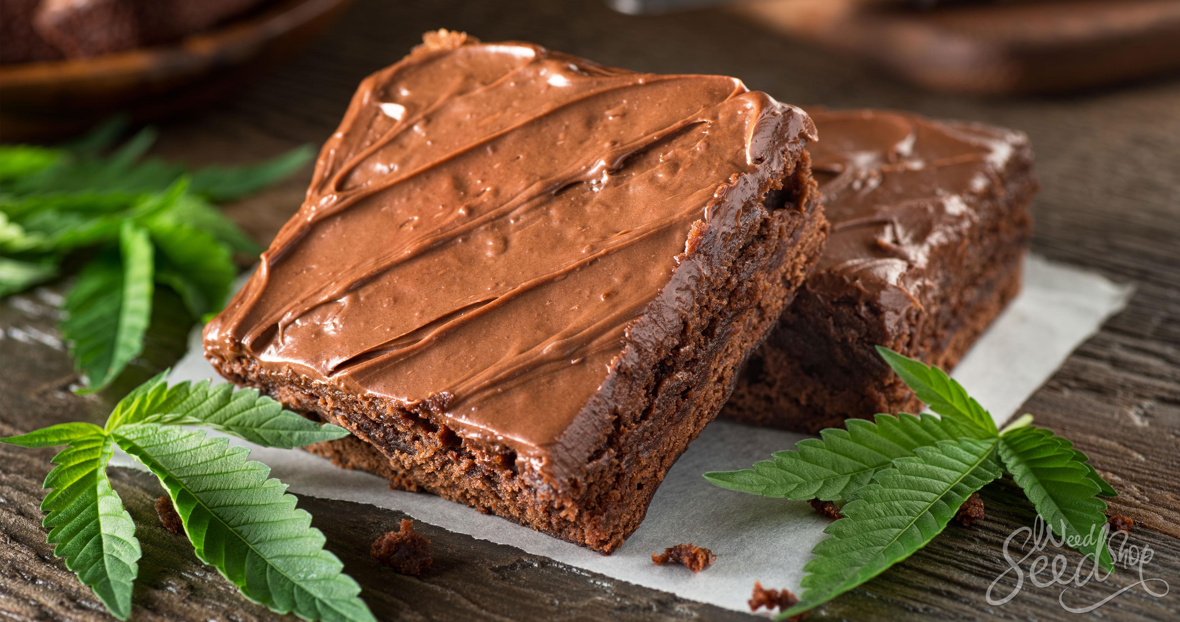 Accélérer la montée du cannabis comestible - WeedSeedShop