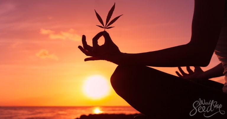 Manieren om Wiet en Meditatie Te Combineren