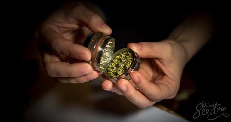 Los pros y contras de moler tu marihuana
