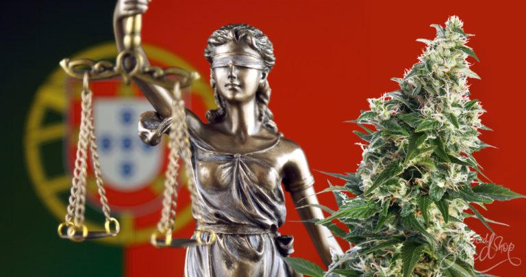 Is wiet legaal in Portugal?