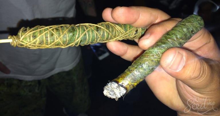 Was sind Thai Sticks und wie stellt man sie her?