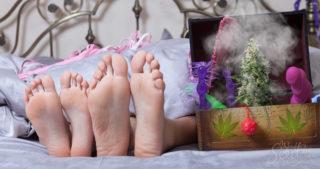 Plan à 3 avec Marie-Jeanne –  Les 5 meilleurs produits sexuels cannabiques