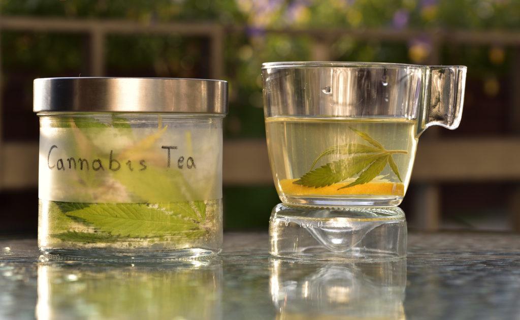 Make Cannabis Tea With Your Cannabis Leaves